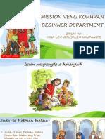Beginner Departmnet Zirlai 40-Na- Tumkau Ni- April 5, 2020 - Mission Veng Kohhran