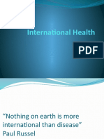 International Health ppt