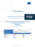 National Strategic Plan for optimising inland waterway maintenance in the Romanian stretch of the Danube