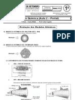 Química - Pré-Vestibular7 - Evolução dos Modelos Atomicos