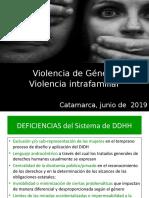 DIPLOMATURA VIOLENCIA DE GENERO 2019