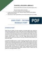 Case Study for Internal Test