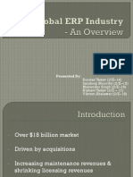 Overview of the Global Erp Market