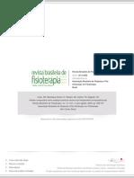 Análise comparativa entre avaliação postural