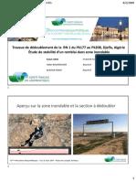 Travaux de dédoublement de la  RN1, Djelfa, Algérie