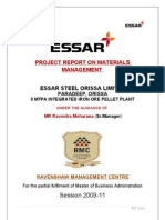 33128132 Materials Management in Essar Steel
