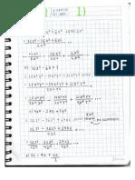 Matematicas y Guia de Ejercicio sobre la División sintetetica