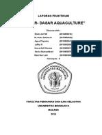 Laporan Dasar - Dasar Aquaculture