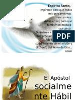 Las habilidades sociales del apostol