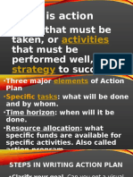 REPORT ACTION PLAN