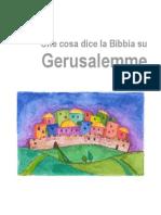 La Bibbia su Gerusalemme