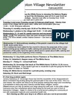200131 Quidhampton Village Newsletter February 2020