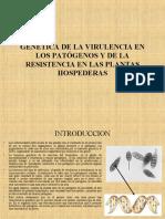 Clase4 Gernetica de la virulencia.ppt