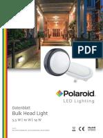 Polaroid-Leaflet - Bulk Head Light - A4 Einzelseiten