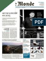 Le Monde 20 Janvier 2016