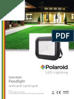 Polaroid-Leaflet - Floodlight - A4 Einzelseiten