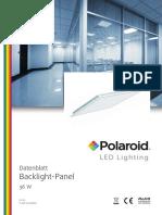 Polaroid-Leaflet - Panel - A4 Einzelseiten