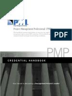PMP Credential Handbook.pdf