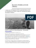 Las atrocidades nazis olvidadas en la isla británica de Alderney