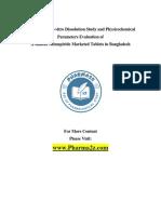 Glimepiride-Tablet