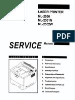 ML-2550_2551N xerox 3450 Parts