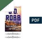 Robb, J.D. - Eve Dallas 'Ante la Muerte' 45 - Secrets in Death.pdf