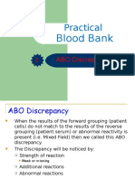Practical ABO Groups Discrepancies.ppt