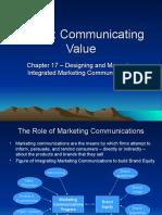 chapter17designingandmanagingintegratedmarketingcommunications-090617152858-phpapp01