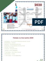 CALENDÁRIO DOS KAMBAS 2020