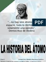 MODELOS ATOMICOS HASTA BORH.ppt
