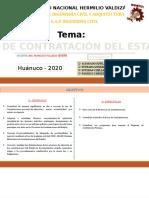 LEY DE CONTRATACIÓN DEL ESTADO