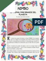 NIMBO  EL ANIMAL MÁS GRANDE DEL PLANETA