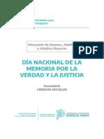 Cuadernillo Adultos - Secundaria - Día de la Memoria.pdf