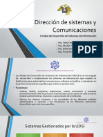 1. Presentación de la UDSI