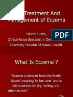 Treatment and Management Of Eczema & Immunomodulators MSc Pharm