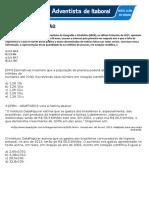 Atividade Revisão Mat 8 Notação
