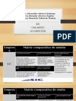 Matriz de Comparacion Grupo 1