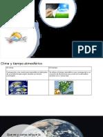 Clima y tiempo atmosférico1