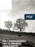 Top 5 Photography Tips to Improve Your Photos