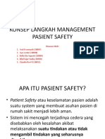 PPT DAN SOAL PASIENT SAFETY