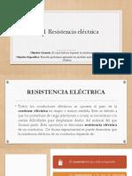 2.8.1 Resistencia Eléctrica
