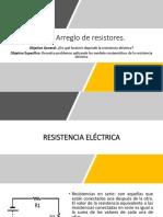 2.8.2 Arreglo de Resistores.