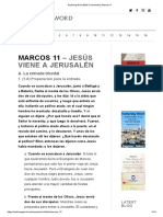 Enduring Word Bible Commentary Marcos 11
