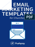 52 Email Marketing Templates for Churches 02-21-19 PUBLISH