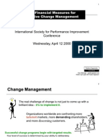 Change Process Model 6 Mar 00