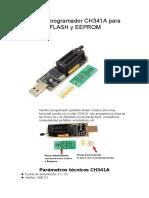Grabador programador CH341A para memorias FLASH y EEPROM_MIO