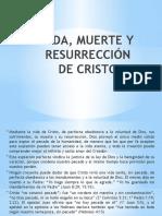 Vida Muerte y resurrecion de Cristo