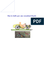 How to build your own recumbent bicycle
