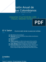 V Salón Anual de artistas Colombianos