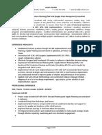 Asad CV - SCM Functional